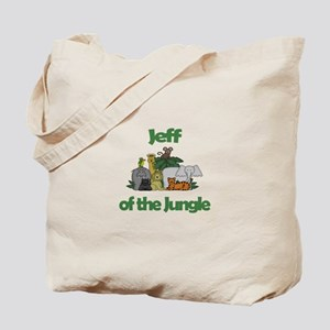 Jeff of the Jungle Tote Bag