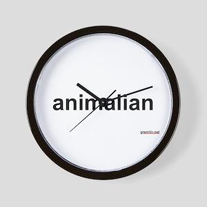 BTR: animalian Wall Clock