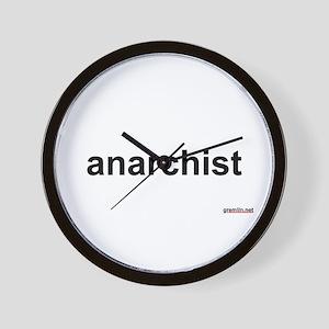BTR: anarchist Wall Clock