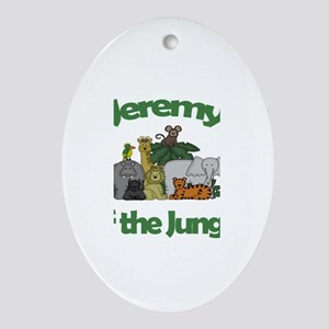 Jeremy of the Jungle Oval Ornament