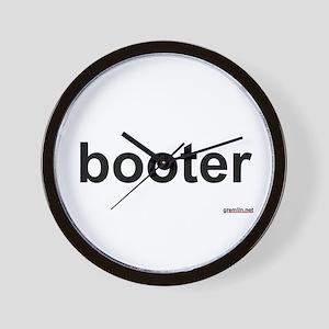 BTR: booter Wall Clock