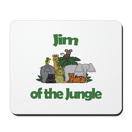 Jim of the Jungle Mousepad