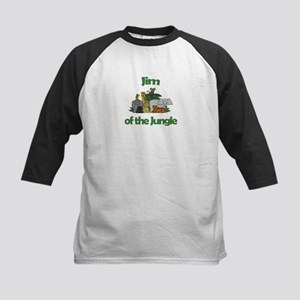 Jim of the Jungle Kids Baseball Jersey