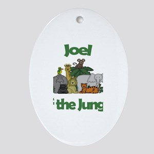 Joel of the Jungle Oval Ornament