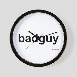 BTR: badguy Wall Clock
