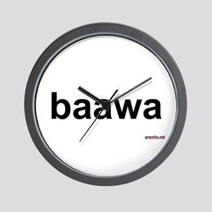BTR: baawa Wall Clock