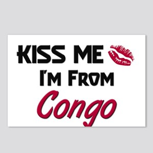 Kiss Me I'm from Congo Postcards (Package of 8)