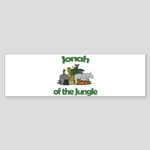 Jonah of the Jungle Bumper Sticker