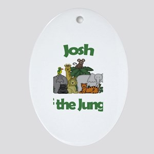 Josh of the Jungle Oval Ornament