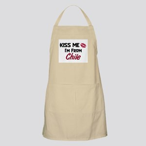 Kiss Me I'm from Chile BBQ Apron