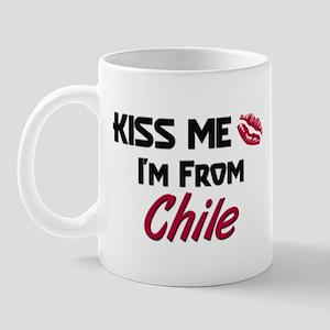 Kiss Me I'm from Chile Mug