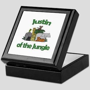 Justin of the Jungle  Keepsake Box