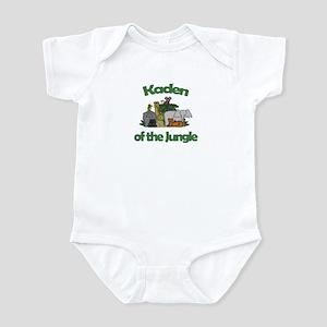 Kaden of the Jungle Infant Bodysuit