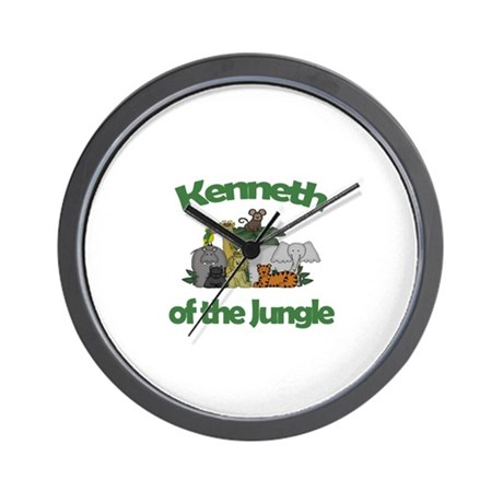 Kenneth of the Jungle Wall Clock