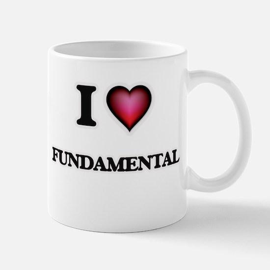 I love Fundamental Mugs