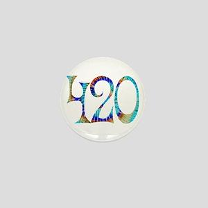420 - #1 Mini Button