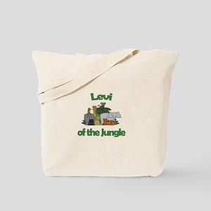 Levi of the Jungle Tote Bag