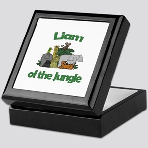 Liam of the Jungle  Keepsake Box