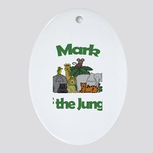 Mark of the Jungle Oval Ornament