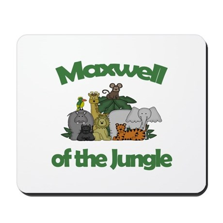 Maxwell of the Jungle Mousepad
