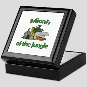 Micah of the Jungle  Keepsake Box