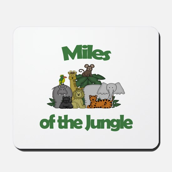 Miles of the Jungle Mousepad