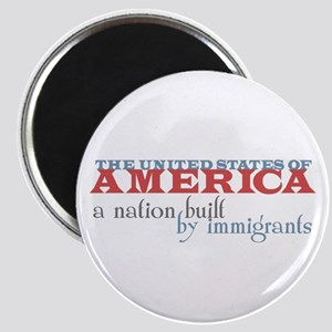 A Nation Built by Immigrants Magnet