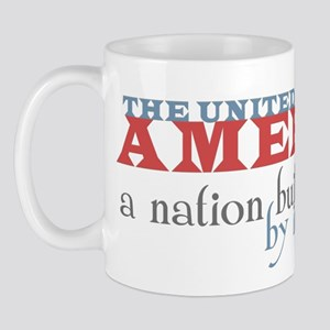 A Nation Built by Immigrants Mug