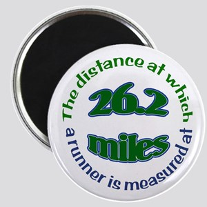 Magnet for marathon runners!