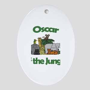 Oscar of the Jungle Oval Ornament
