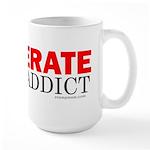 Desperate Stamp Addict Large Mug