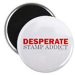 Desperate Stamp Addict Magnet