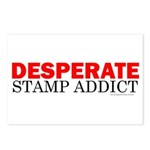 Desperate Stamp Addict Postcards (Package of 8)