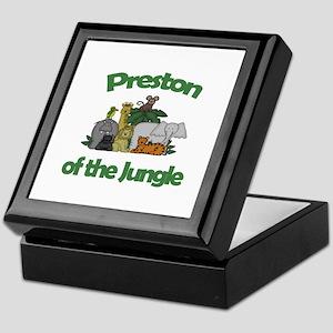 Preston of the Jungle  Keepsake Box