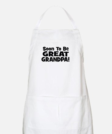 Soon To Be Great Grandpa! BBQ Apron