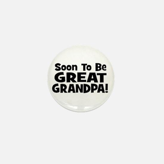 Soon To Be Great Grandpa! Mini Button