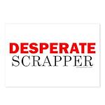 Desperate Scrapper Postcards (Package of 8)
