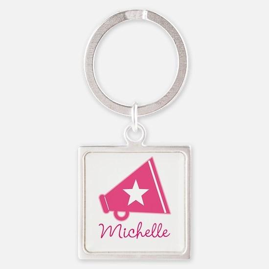 Cheerleader Personalized Cheerleading Keychains