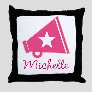 Cheerleader Personalized Cheerleading Throw Pillow