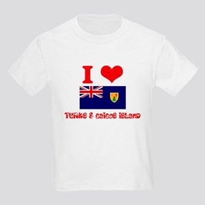 I Love Turks & Caicos Island T-Shirt