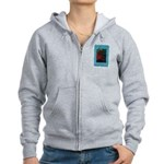 Fight of Colour Zipped Hoodie
