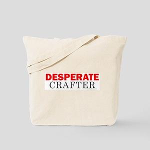 Desperate Crafter Tote Bag