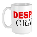 Desperate Crafter Large Mug