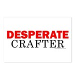 Desperate Crafter Postcards (Package of 8)