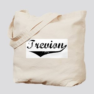 Trevion Vintage (Black) Tote Bag