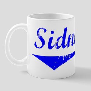 Sidney Vintage (Blue) Mug