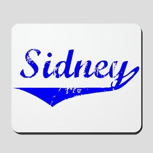 Sidney Vintage (Blue) Mousepad