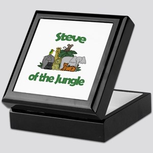 Steve of the Jungle  Keepsake Box