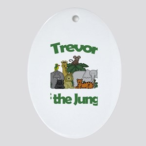 Trevor of the Jungle Oval Ornament