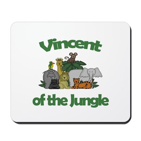Vincent of the Jungle Mousepad